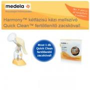 Medela Harmony mellszívó+fertőtlenítő zacskó