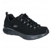 Skechers Synergy Zwarte Sneakers