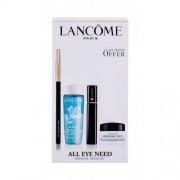 Lancôme Hypnôse darčeková kazeta pre ženy riasenka 2 ml + ceruzka na oči Crayon Khol 1, 14 Noir + odličovací prípravok Bi-Facil 30 ml + očný krém Advanced Génifigue 5 ml 01 Noir Hypnotic