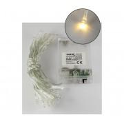 Lanț de crăciun LED 2,4 m 20xLED/3xAA 2700 K