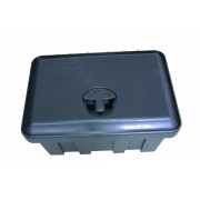 Förvaringslåda, Hårdplast, L 500 x B 300 x H 350mm, Inkl lås, Danken