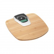 Bathroom Scale - bamboo - 180 kg