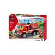 Joc constructie Blocki, Cisterna pompieri, 213 piese