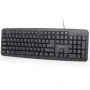 Клавиатура KB-U-103, USB, черна