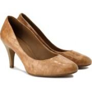 Clarks Women Light Tan Le Heels