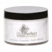 Nail Perfect - Basic Acrylic Powder - Soft White - 100 gr