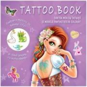 Tattoo Book. Cartea mea cu tatuaje si modele fantastice de colorat