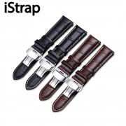 12 -17mm 18mm 19mm 20mm 21mm 22mm Genuine Leather Alligator Grain Watch Band Strap for Tissot for Casio Diesel for Watchband