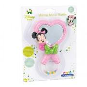 Jucarie zornaitoare cu oglinda pentru bebelusi Minnie Mouse, Baby Clementoni