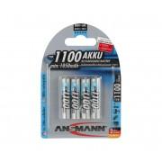 Ansmann Micro AAA - 4buc baterii reincarcabile AAA NiMH1,2V/1050mAh