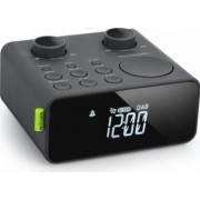 Ceas cu radio Muse M-197 CDB Tunner Dab-Dab+ LCD Alarma duala Jack 3.5mm Negru