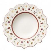 Villeroy & Boch Assiette creuse coloris blanc Toy's delight
