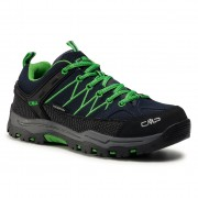 Туристически CMP - Kids Rigel Low Trekking Shoes Wp 3Q13244J B.Blue/Gecko 51AK