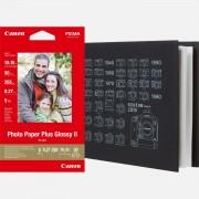 """Canon Album photo Canon MC-PA001 + papier d'impression photo 4 × 6"""" (10 × 15 cm) PP-201"""