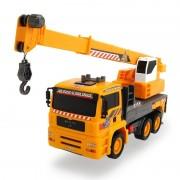 Camion Dickie Toys MAN Air Pump Mobile Crane cu macara