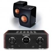 Marantz HD-AMP1 Black inc KEF LS50s Black
