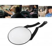 Oglinda Auto Retrovizoare pentru Supravegherea Copilului din Spate, Diametru 17cm