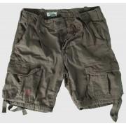 pantaloni scurți bărbați SURPLUS - Airborne Vintage - oliv Gewas - 07-3598-61