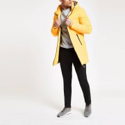 River Island Mens Only & Sons Yellow longline puffer jacket (S)