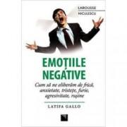 Emotiile negative. Cum sa ne eliberam de frica anxietate tristete furie agresivitate rusine
