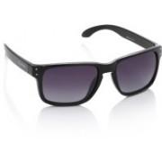 Flying Machine Rectangular Sunglasses(Violet)