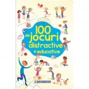 100 DE JOCURI DISTRACTIVE SI EDUCATIVE - CORINT (JUN1045)