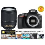 Nikon Kit Cámara Réflex NIKON D5600+AFS DX 18/140G VR (24.7 MP - ISO: 100 a 25600 - Sensor: DX)