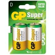 Sparköp D-batterier, 2-pack