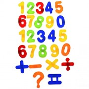 Fashion HUB Brand Magnetic Numbers Number Fridge Magnet Numbers 123, Arithmetic Piece - Kid Education Fun Toy Set Symbol Learning Numbers