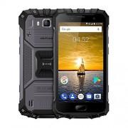 "Ulefone Armor 2 6GB+64GB 5"" Sharp Android 7.0 MTK Helio P25 Octa Core 64-bit hasta 2.6GHz WCDMA & GSM & FDD-LTE (gris oscuro)"