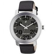 Fastrack Quartz Grey Round Men Watch 3121SL02