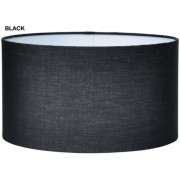 Pacific Harry Drum Light Shade in Poly Cotton 40cm