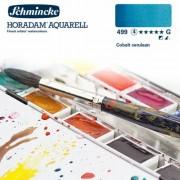 Schmincke Horadam akvarellfesték, 1/1 szilkés - 499, cobalt cerulean