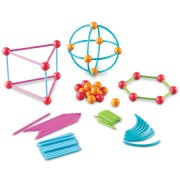 Set constructie Learning Resources LER1776 Forme geometrice