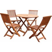 Set masa cu 4 scaune Strend Pro Guldborg pentru gradina sau terasa