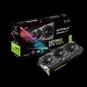 VGA Asus ROG STRIX GeForce GTX 1080 TI 11GB OC Edition, nVidia GeForce GTX 1080 Ti, 11GB 352-bit GDDR5, do 1708MHz, DP 2x, DVI-D, HDMI 2x, 36mj (ROG-STRIX-GTX1080TI-O11G-GAMING)