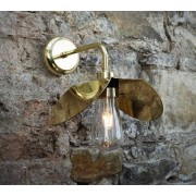 Mullan Lighting Hali vägglampa - Polished brass