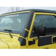 Protectii Vinil stlpi parbriz pt. 97-06 Jeep Wrangler TJ & Unlimited
