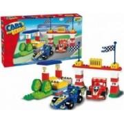 Set constructie Unico Plus Cars for Kidz Set F1