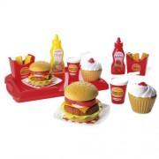 Jucarie Ecoiffier Set Hamburger