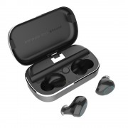 S8 Mini Sports Earphone Wireless Stereo Earbud Bluetooth 5.0 Headset with Charging Box - Black
