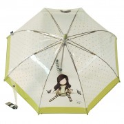 Átlátszó esernyő - gyerek - Gorjuss - On Top of the World - 76 - 0014 - 10