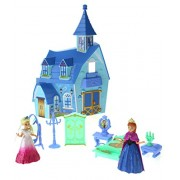 Velocity Toys My Dream My Beauty Battery Operated Toy Castle Dollhouse w/ Light up Effects Two Doll Princess Figures Furniture & Accessories
