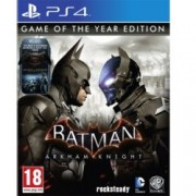 Batman: Arkham Knight Game Of the Year Edition, за PS4