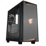 Кутия Gigabyte Aorus AC300W Lite RGB Fusion Mid Tower, GA-CASE-AC300W-LITE