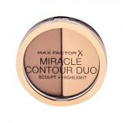Max Factor Miracle Contour Duo bronzer 11 g tonalità Light/Medium