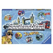 Scotland Yard Junior. Strategic Board Game Made by Ravensburger Games