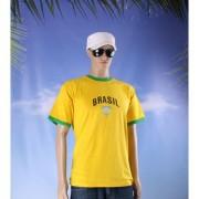 Shoppartners Supporters voetbal shirt Brasil geel