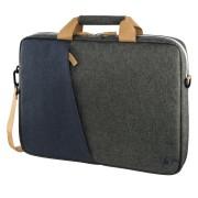 Geanta laptop Hama Florence 15.6 inch Gri inchis / Albastru
