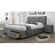 Home Style Tweepersoonsbed Percy 160x200cm in grijs